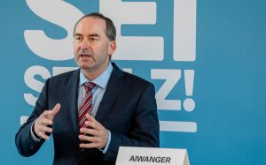 Staatsminister Hubert Aiwanger